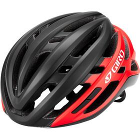 Giro Agilis Kask, czarny/czerwony